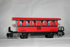 Personenwagon rot Eisenbahn 9V RC Train Moc +1 Gleis aus Lego 60052