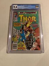 Thor # 412 - First Appearance Of The New Warriors - CGC 9.4