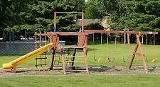 used rainbow swing set