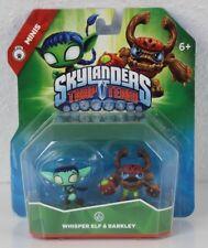 Whisper once & barkley Skylanders Trap Team Mini Duo figuras Pack nuevo embalaje original EE. UU.
