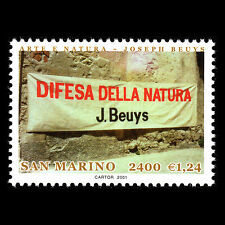 San Marino 2001 - Art and Nature - Sc 1516 MNH