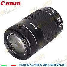 OBIETTIVO CANON 55-250 STM IS STABILIZZATO 760D 750D 700D 650D 1200D 1100D 600D