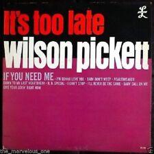 """WILSON PICKETT~""""IT'S TOO LATE""""~""""EX-PROMO"""" ~U.S.ORIG. DOUBLE L-2300 1st.Press~LP!"""