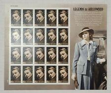 Ingrid Bergman Celebrity 2015 / #5012 / Forever Stamps Sheet of MNH