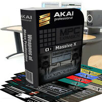 Akai MPC Expansion/NI Massive X Library: Immediate delivery- 19 Expansions!!