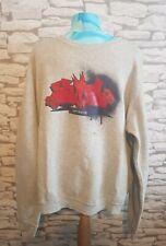 55 DSL By Diesel Grey Sweatshirt Size XXL graphic design jumper sweater top