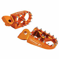 Warp 9 Oversized MX Foot Pegs Orange