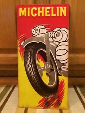 Michelin Tire and Tubes Advertising Metal Signs Gas Pump Garage Vintage Style