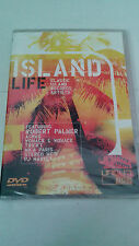 "DVD ""ISLAND LIFE"" ROBERT PALMER TRICKY PJ HARVEY PULP PAUL WELLER PRECINTADO SEA"