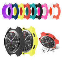 Silicone Smart Watch Screen Case Protector for Samsung Gear S3 Classic/Frontier-