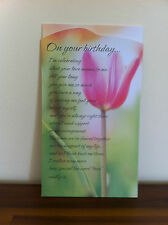 Happy Birthday Greeting Card/Gift - Inspirational