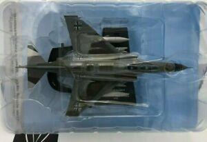 DIE CAST McDD F-4F PHANTOM II WITTMUNDHAFEN AB GERMANY 1978 AEREO 1/100 HACHETTE