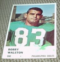 1961 Fleer Football Card # 54 Bobby Walston-Eagles