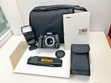 Nikon D d90 12.3 mp SLR-cámara digital-negro (sólo carcasa)