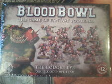 BLOOD BOWL GOUGED EYE ORC TEAM - NEW & SEALED