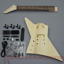 Bargain Musician - GK-016L - LEFT Hand DIY Unfinished Project Luthier Guitar Kit