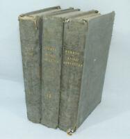 Lot 3 livres Oeuvres CHANOINE SCHMID XIXe PETIT CONTES/PIERRES FINES/CRUCHE EAU