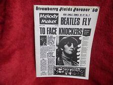 BEATLES STRAWBERRY FIELDS FOREVER #30 Newsletter/Fan Letter Joe Pope, Boston, MA