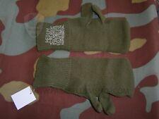 Guanti lana soldato US manopole, original green wool trigger finger gloves Army