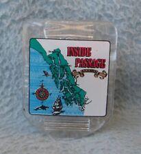 Inside Passage Alaska Clip Magnet, Souvenir, Travel, Refrigerator