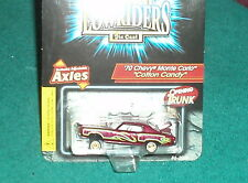 """REVELL 1970 CHEVY MONTE CARLO """"COTTON CANDY"""" LOW RIDER 1/64 w ADJUSTABLE AXLES"""