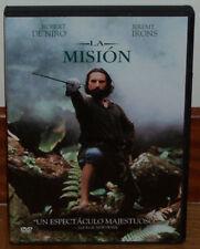 LA MISION THE MISSION DVD NUEVO PRECINTADO ROBERT DE NIRO HISTORICO (SIN ABRIR)