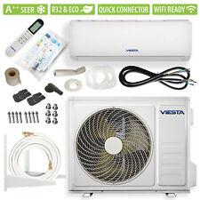 VIESTA 12SQ Split Klimaanlage Klimagerät Quick-Connector 12000BTU 3,4kW WiFi A++