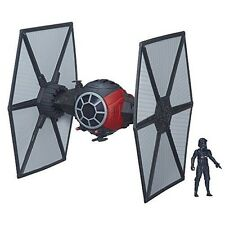 Star Wars The Force Awakens First Order Special Forces Tie Fighter With Pilot