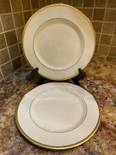 Lenox Tuxedo Salad Plate Set Of 2 Gold New