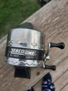 Vintage Zebco One Hi-Speed Ball Bearing fishing reel.