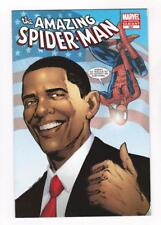 THE AMAZING SPIDER-MAN 583 (NM) 3rd PRINT BARACK OBAMA VARIANT (SHIPS FREE) *