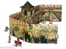 Building FORTRESS WALL War Games Terrain Landscape Scenery Middle Ages 25-28 mm
