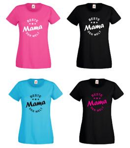 Beste Mama der Welt! - Damen T Shirt - Mutter -  Muttertag - Geschenk - Eltern -