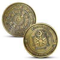 Commemorative Coin Tarot Divination Collection Arts Hobby Gifts Souvenir