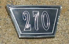 64 Mopar Dodge Dart 270 Hood Medallion Emblem Insert