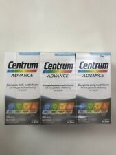 3 x Centrum Advance Multivitamin Tablets - Pack of 3 x 100!!!