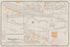 1913, CHARLES E. GOAD, MONTREAL, CANADA, WESTMOUNT, REPRODUCTION PLAT ATLAS MAP