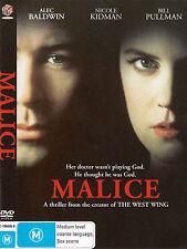 Malice-1993-Alec Baldwin-Movie-DVD