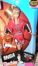 NBA CHICAGO BULLS  BARBIE DOLL IN BOX