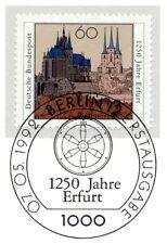 BRD 1992: Erfurt 1250 Jahre Nr 1611 mit Berliner Ersttags-Sonderstempel! 1A! 153