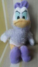 "Daisy Duck with fur coat 15"" plush soft toy Disneyland Resorts Paris NEW n"