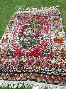 Antique Yatak Turkish Handknotted  100% wool  'sleeping' rug