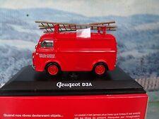 1/43  Norev   Peugeot D3A Fire