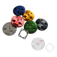 Colorful Cylinder Head Cover & Gasket Fits 66cc 80cc 2- Stroke Motorized Bicycle
