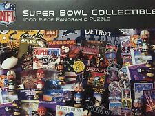 NFL Jigsaw Puzzle 39 x 13 Football Super Bowl 1000 Pc Masterpieces New