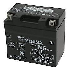 Batterie yuasa TTZ7-S HM Moto CRE-F 250 / 300 X 2008 2009 2010 2011 2012
