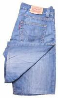 LEVI'S Mens Denim Shorts W34 Blue Cotton 506 HV10