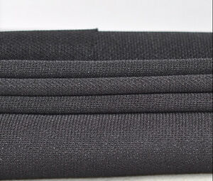 1pcs Speaker Grill Cloth Black Thick Mesh dust cloth Stereo Grille Fabric cloth