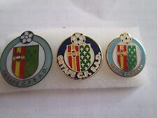 lotto 3 pins lot GETAFE CLUB DE FUTBOL FC club spilla football calcio spille