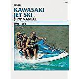 KAWASAKI Jet Ski PWC jh 650 700 750 SC ss XI xir Manual De Reparación Manual De Servicio